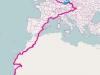 Ukázka Lokátoru GSM-GPS Delfín Premium v jednom z největších amatérských závodu Rallye Budapest Bamako - celková ukázka trasy.